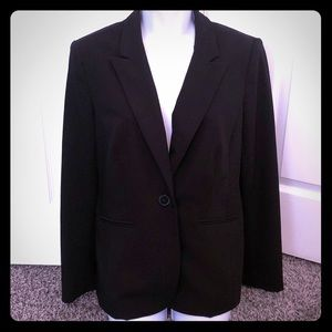Liz Claiborne one button jacket blazer 8